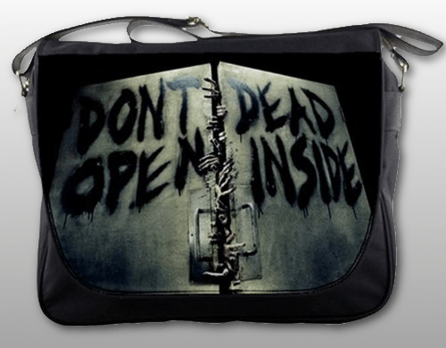 walking dead messenger bag