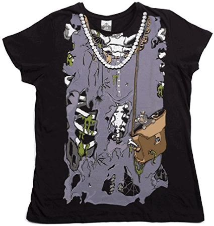zombie rib cage shirt
