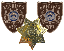 Walking Dead Sheriff Badges