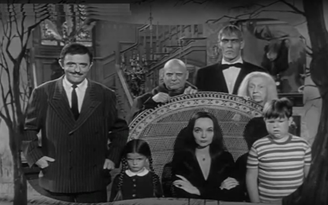 addams family - zombie pit