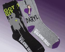 daryl dixon got bit socks