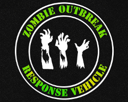zombie outbreak response vehicle mats
