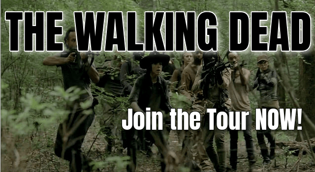 the walking dead tour