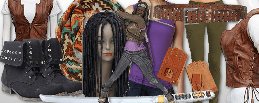 Michonne Costume  sc 1 st  ZombiePit : michonne halloween costume  - Germanpascual.Com