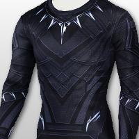 Black Panther Style Training T-shirt