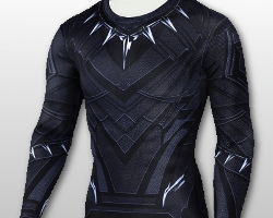 Black Panther Style Training T-shirt