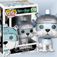 Funko Pop Snowball from Rick & Morty