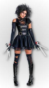 miss edward scissorhands costume
