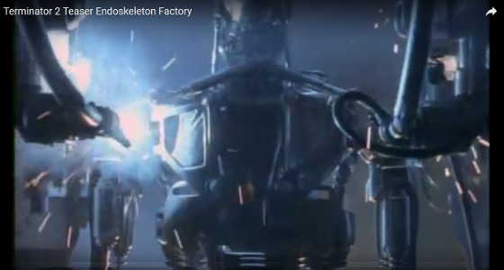 Terminator T-800 Endoskeleton Full Size