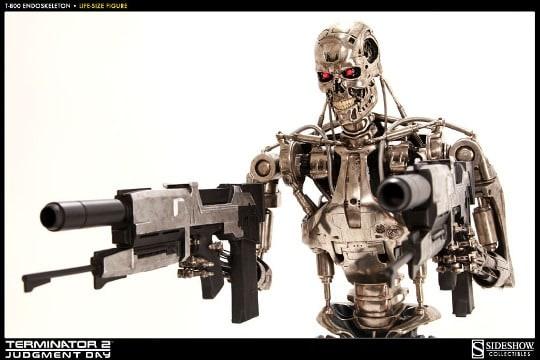 Terminator T-800 Endoskeleton Full Sizer
