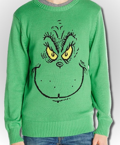 Grinch Christmas Sweater