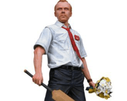 Shaun of the Dead with Bat