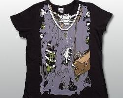 zombie ribcage shirt
