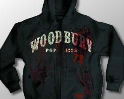 walking dead zip hoodie
