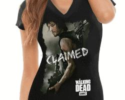 Walking Dead Claimed T shirt