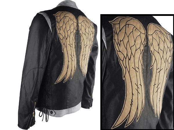 daryl dixon vest and jacket