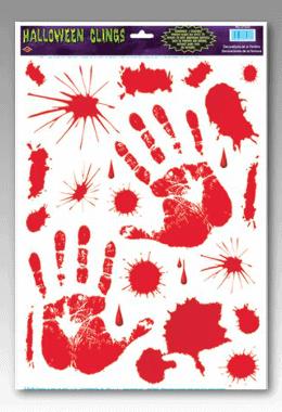 Bloody Hand Print 260x380 Zombie Pit