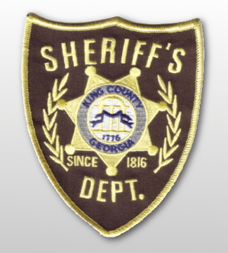 king county sheriff patch