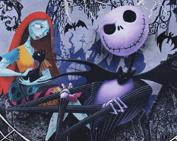 nightmare before christmas bag