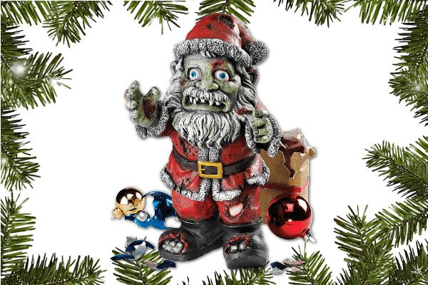 Christmas Zombie Santa.Zombie Santa Zombie Pit