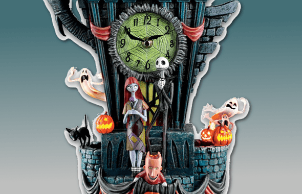nightmare before christmas clock