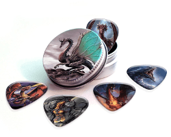 dragon guitar picks