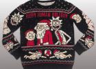 Rick Morty Christmas Sweater