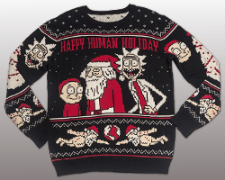 Rick Morty Christmas Sweater