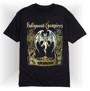 hollywood vampires wings t-shirt