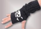 skull arm warmers