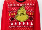 Grinch Red Christmas Sweater