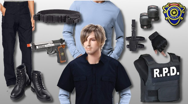 Leon Kennedy Costume Resident Evil Costumes Zombiepit