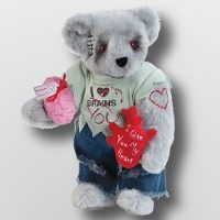 Valentine Zombie Love Bear