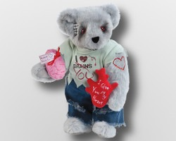 valentine zombie bear lover