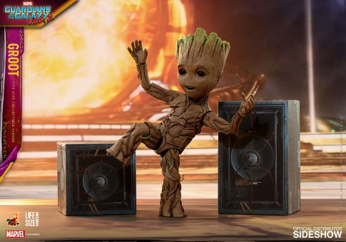 Groot ~ Life size Collectible | Marvel Guardians of the