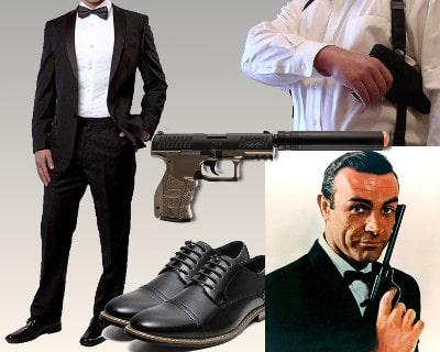 James Bond costume