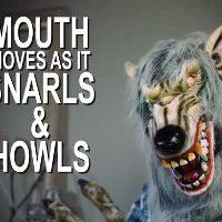 Animatronic Werewolf Lifesize