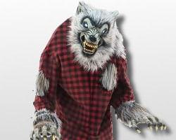 animatronic werewolf decoration