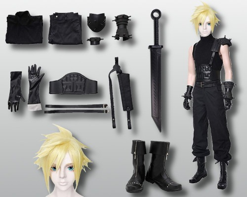 Final Fantasy 7 Cloud Costume
