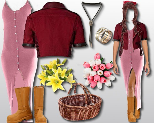 Final Fantasy 7 Aerith Costume