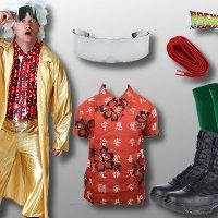 Doc Brown Costume Back to the Future 2