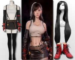 Final Fantasy 7 Tifa Lockert Costume