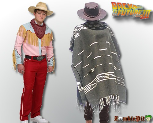 Marty McFly Cowboy Costume