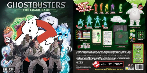 Ghostbusters Game Board