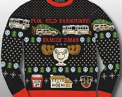 Fun Old Fashioned Christmas Vacation Sweater