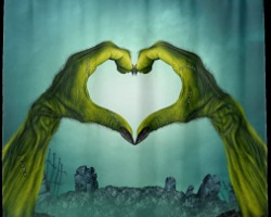 Top 10 Valentines Day Zombie Shower Curtains